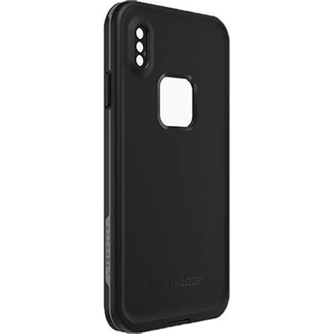lifeproof fr case  iphone xs max asphalt   bh