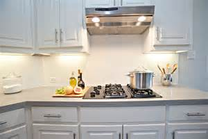Backsplash Tile For White Kitchen by White Tile Backsplash Ideas Home Design Ideas