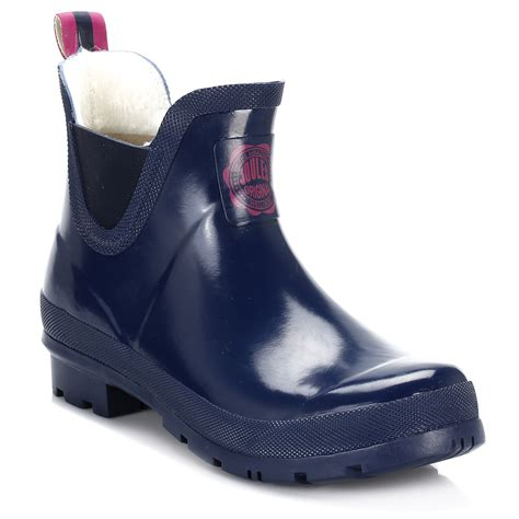 womens navy blue boots joules womens boots navy blue wellibob wellington