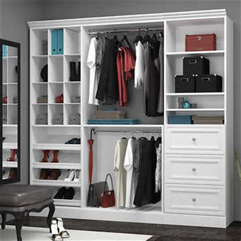 bestar organize it white classic closet