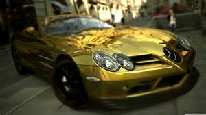 Golden Mercedes Gold Mercedes Wallpapers And Images Wallpapers