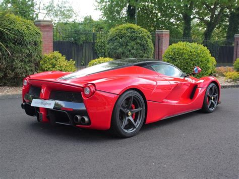 for sale laferrari with only 73 for sale in the uk