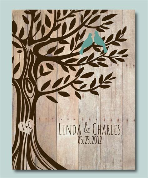 wedding gift ideas for the newlyweds personalized wedding gift love birds tree engagement gift