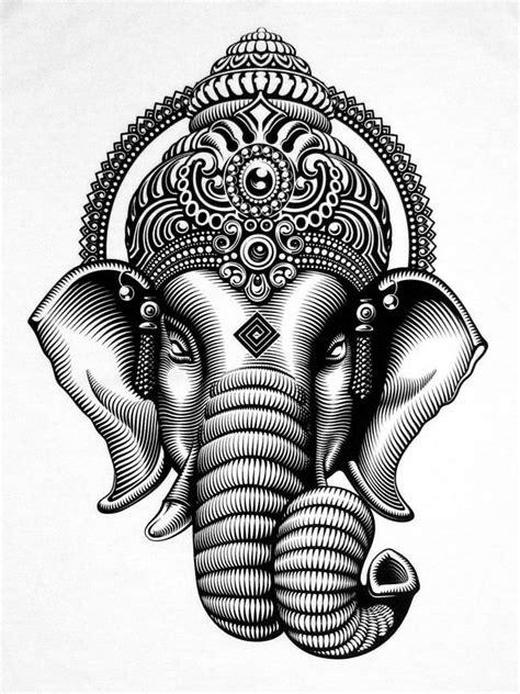 tattoo ganesha drawing ganesha buscar con google elefantes pinterest