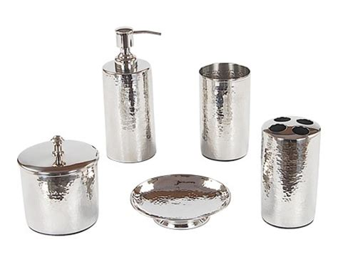polished nickel bathroom accessories to make your bathroom