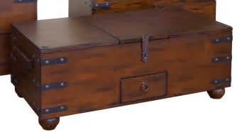 Coffee Table: Charming Trunk Style Coffee Table Idea Cocktail Table Trunk Style, End Tables
