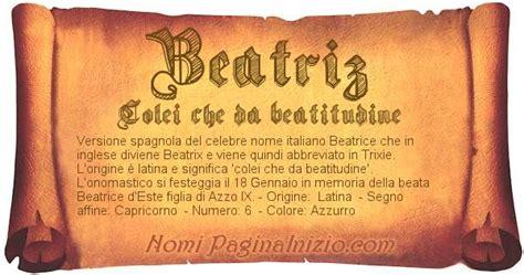 vanitosa significato significato nome beatriz