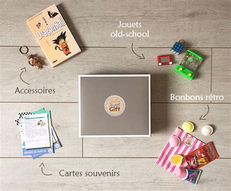 box mensuelle cuisine box cadeau mensuelle nostalgift objets bonbons