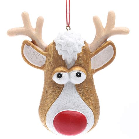 rudolph the red nose reindeer ornament christmas