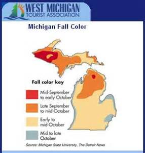 of michigan colors self guided michigan fall color tours