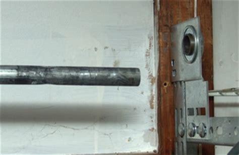 Garage Door Torsion Shaft How To Install A Single Torsion Assembly