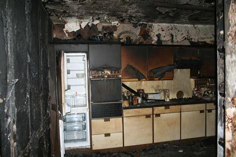 Kitchen Damage Study Damage Reinstatement Project