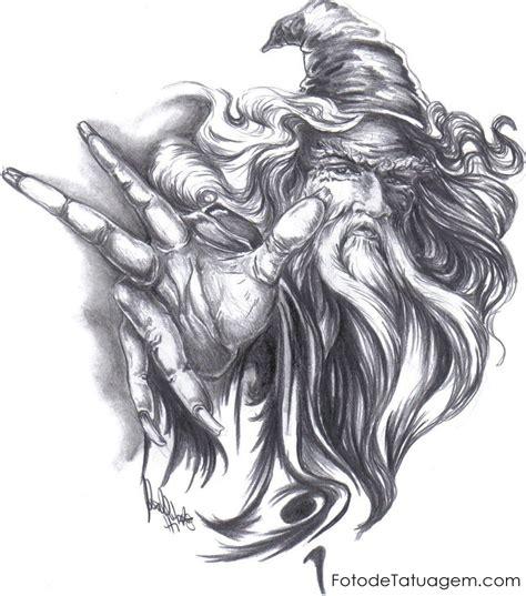 desenho tatuagens desenhos para tatuagem de mago foto de tatuagem