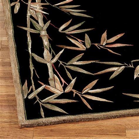 black bamboo rug bamboo area rug