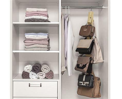 cabide organizador de bolsas bege armarios  closets organizadores de armarios ordenato