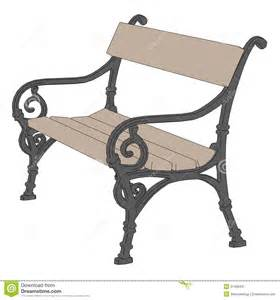 How To Draw A Park Bench Image Of Park Bench Royalty Free Stock Photography Image