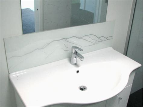bathroom glass splashback ideas gallery