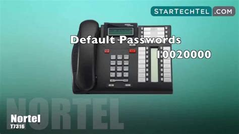reset voicemail password on nortel phone 1000 images about startechtel com videos on pinterest
