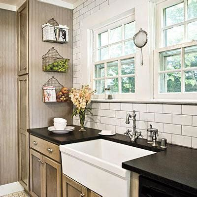Cottage Kitchen Backsplash Taupe Kitchen Cabinets Cottage Kitchen