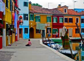colorful houses in italy colorful houses on the island of murano italy wallpapers