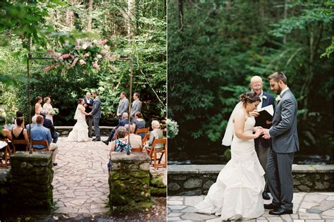 mountain wedding  spence cabin   great smoky