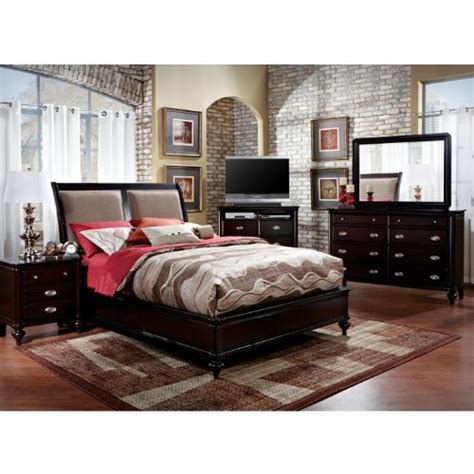 rooms to go bed bedroom sets furniture aniston 8 pc queen bedroom