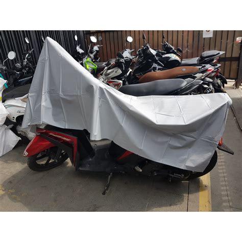 Sarung Penutup Motor Bahan Parasut sarung penutup motor bahan parasut xl size 140 x 240 cm