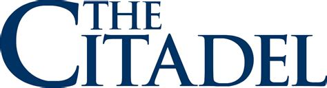 The Citadel Search File The Citadel Wordmark Png Wikimedia Commons