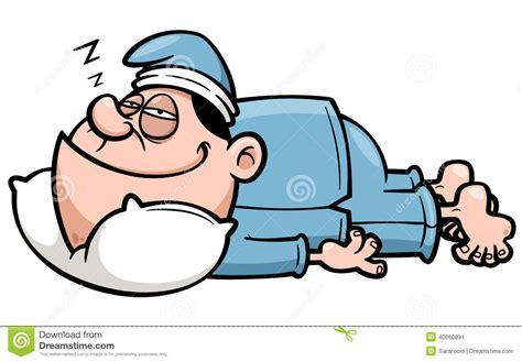 bilder schlafen bemannen sie das schlafen vektor abbildung bild 40660891