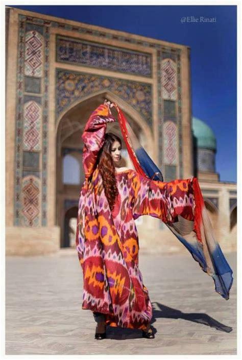 uzbek national dress travelcentrevbn suzani decor traditional uzbek silk ikat dress
