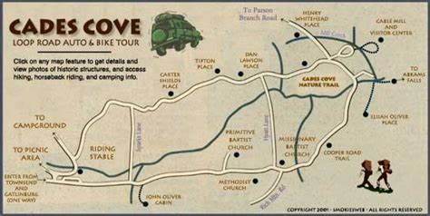 cades cove map creative things to do near gatlinburg tennessee great places to eat cotton ridge create
