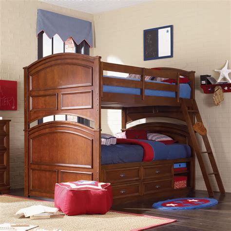 full over full bunk bed with stairs full over full bunk beds with stairs for big family