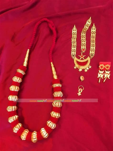 limbu gurung magar jewellery set nepali traditional