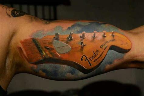 fender tattoos designs fender guitar tattoos
