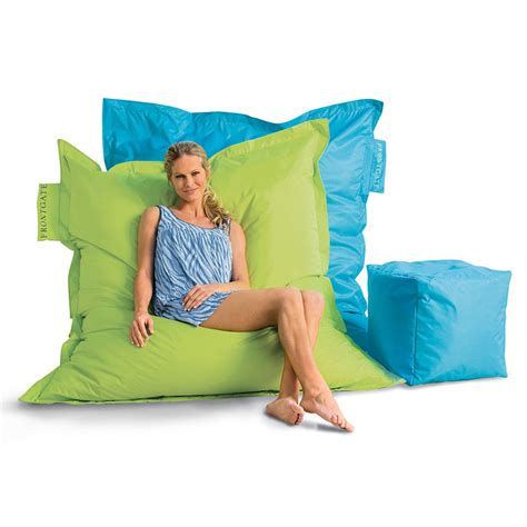 outdoor bean bag chairs outdoor oversized beanbag chair the green