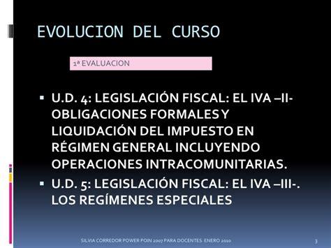 legislacion fiscal vigente iva tema 3 silvia corredor