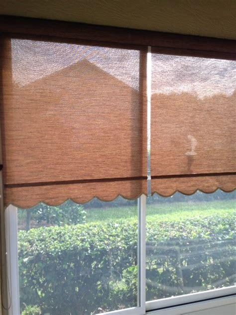 solar roller shades on lanai tropical patio orlando