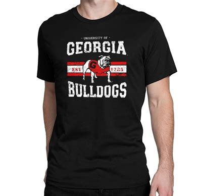 georgia bulldogs fan apparel georgia retro bulldog t shirt georgia bulldogs apparel