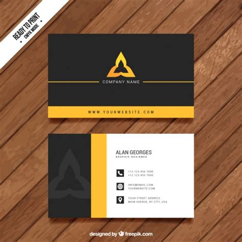 free home design visit visit card template vector premium download