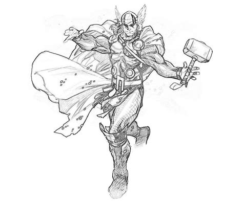 marvel coloring pages thor marvel ultimate alliance 2 thor abilities mario