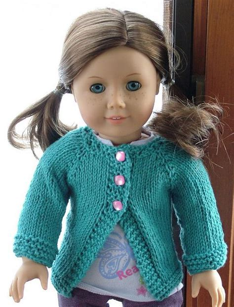 doll cardigan knitting pattern free poppy cardigan american dolls patterns to knit