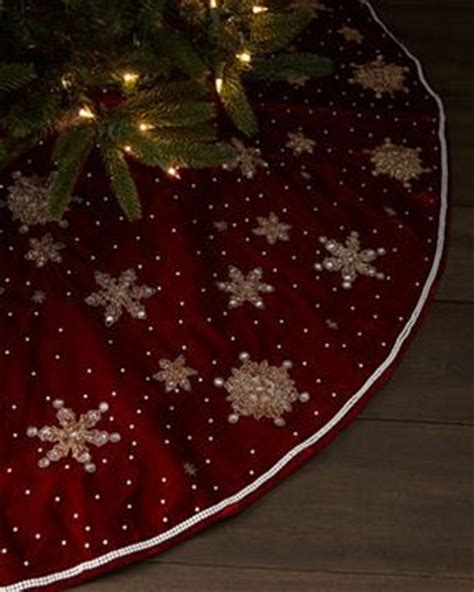 how to make a christmas tree skirt handspire