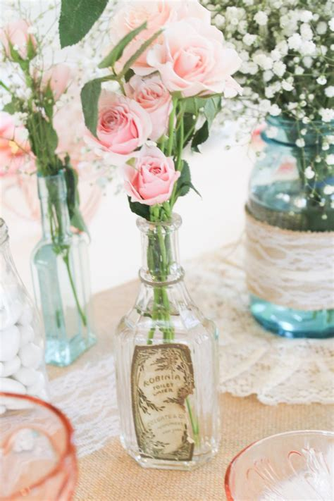 Vintage Themed Baby Shower by Vintage Southern Garden Themed Baby Shower