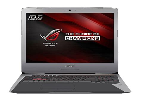 Asus Rog G701vik Gb065t Ci7 7820 64 1tb Ssd 17 3 4k asus rog g701vik 17 3 quot gaming laptop i7 2 9ghz 64gb 1tb g701vik gb043t ccl computers