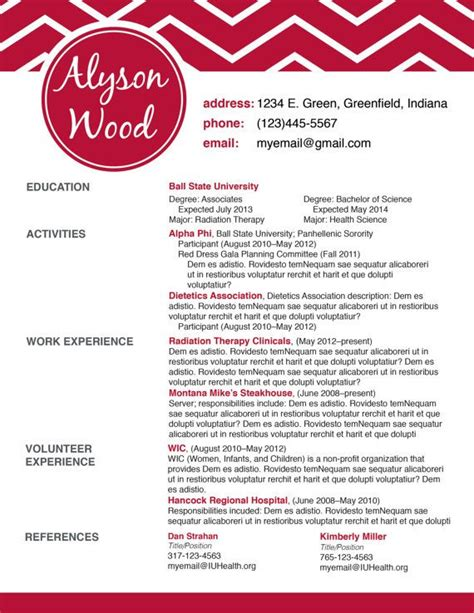 Best 25 Sorority Resume Ideas On Pinterest Sorority Girls College Sorority And Sorority Life Sorority Resume Templates