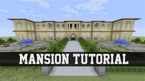 build a mansion mansion tutorial minecraft ps3 xbox 360 1 youtube