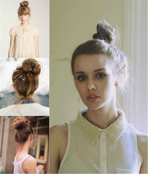 hairstyles for school with extensions ballerina bun hairstyle archives vpfashion vpfashion