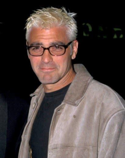 george clooney s hair evolution photos gq