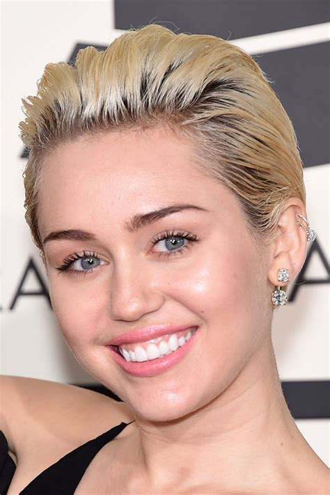 Picturs Of Miley Cyrus Pink Haircut Front Back And Sides | picturs of miley cyrus pink haircut front back and sides