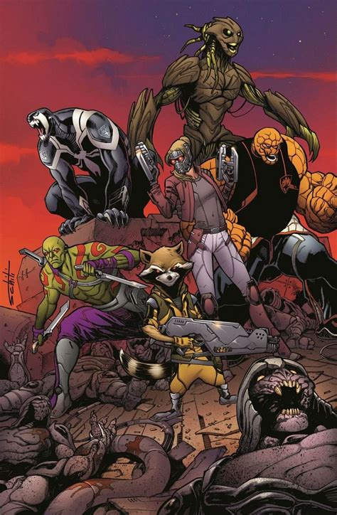 first look guardians of the galaxy 1 by bendis amp schiti